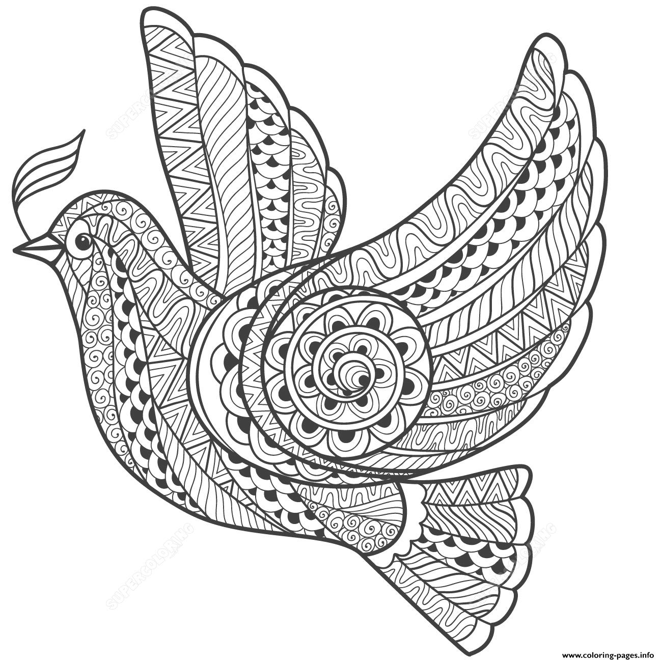 peace dove coloring page images of doves of peace coloring home coloring page peace dove