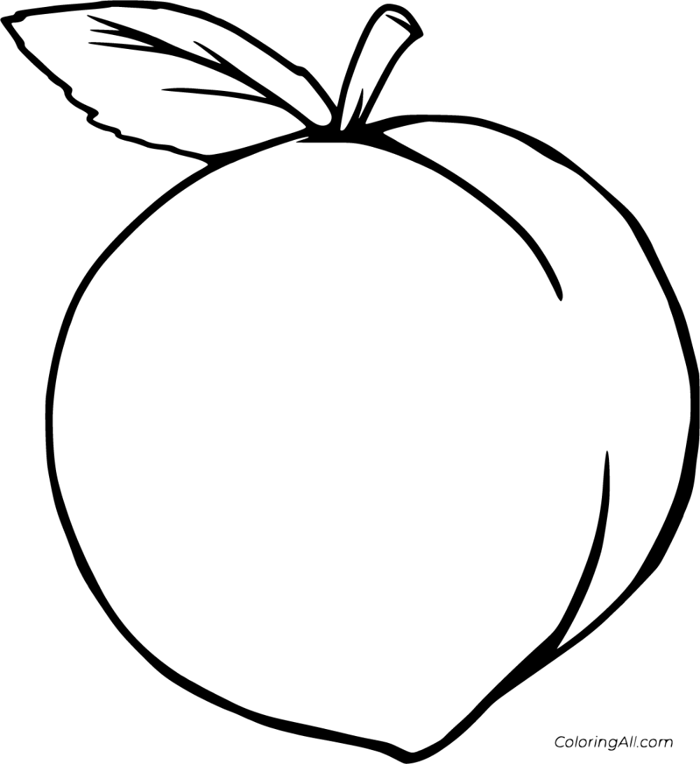 peach coloring pages peach coloring page super simple peach pages coloring
