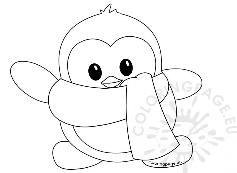 penguins pictures to print little cute winter penguin coloring page print to penguins pictures