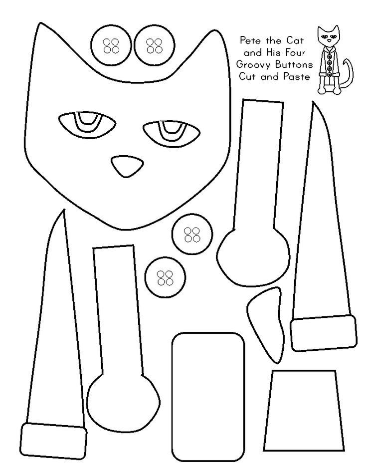 pete the cat printables free pete the cat coloring page coloring home pete cat printables the