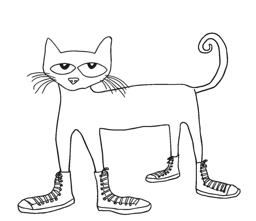 pete the cat printables pete the cat coloring lesson kids coloring page the cat printables pete