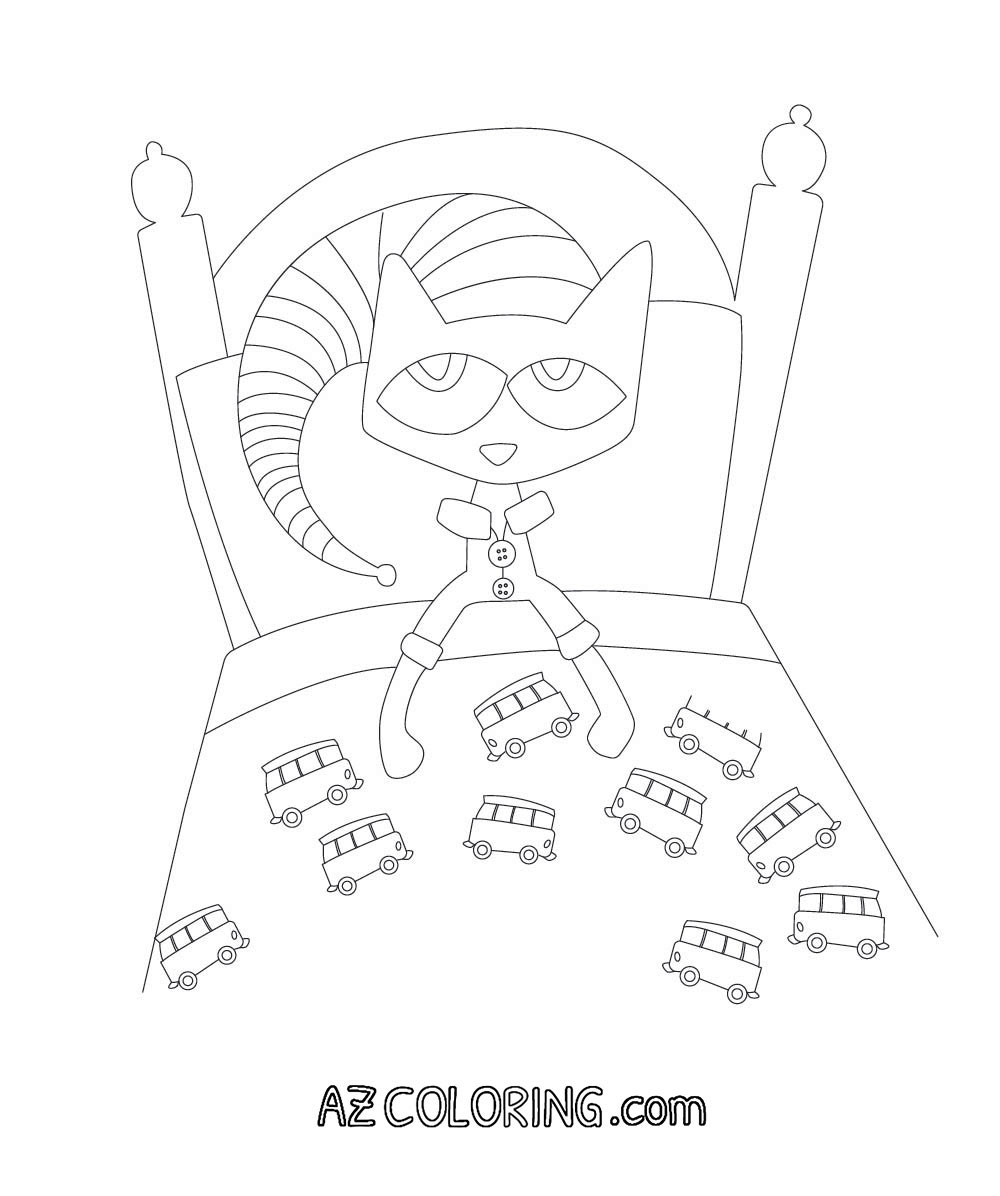 pete the cat printables pete the cat coloring page free printable coloring pages cat pete the printables