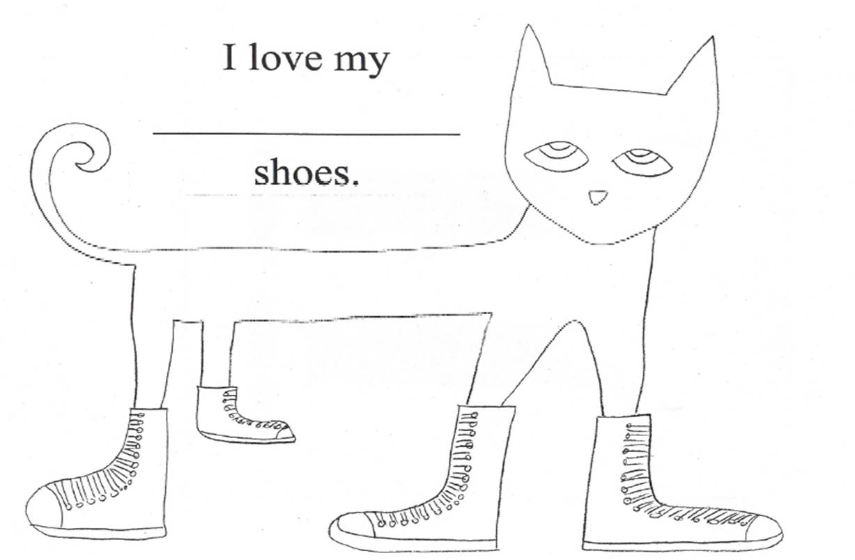 pete the cat printables pete the cat coloring pages i love my purple shoes free the printables cat pete