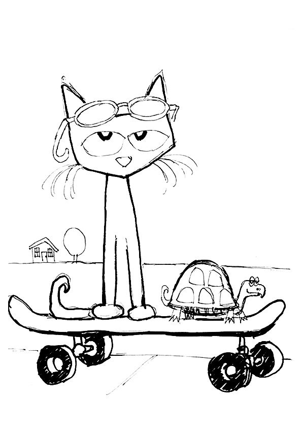 pete the cat printables pete the cat coloring pages rocking in my school shoes the pete cat printables