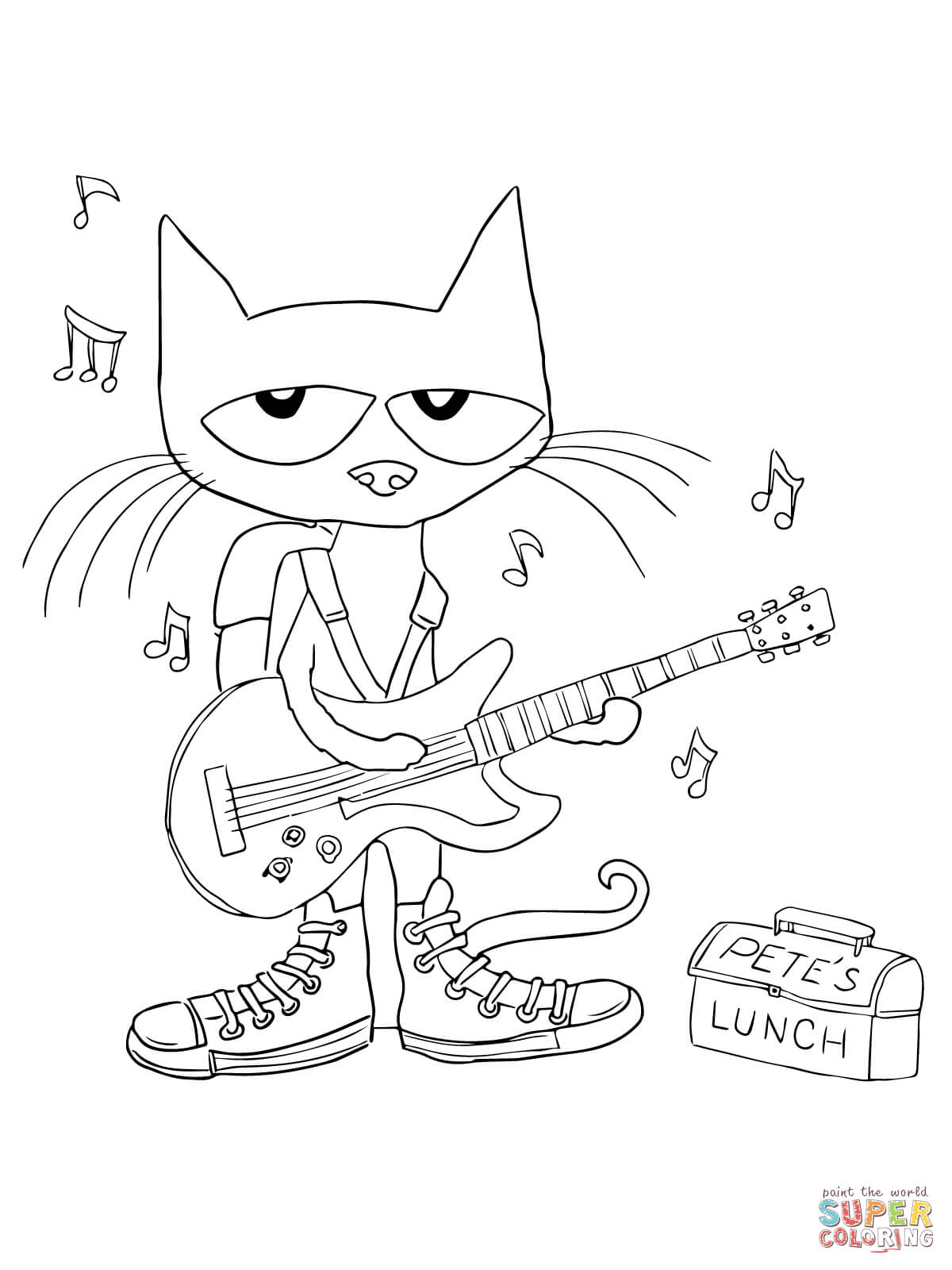 pete the cat printables pete the cat printables coloring home cat the pete printables