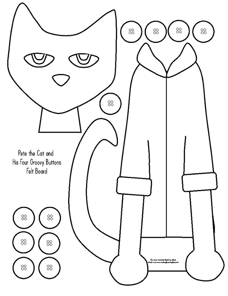 pete the cat printables pete the cat printables coloring home pete cat the printables