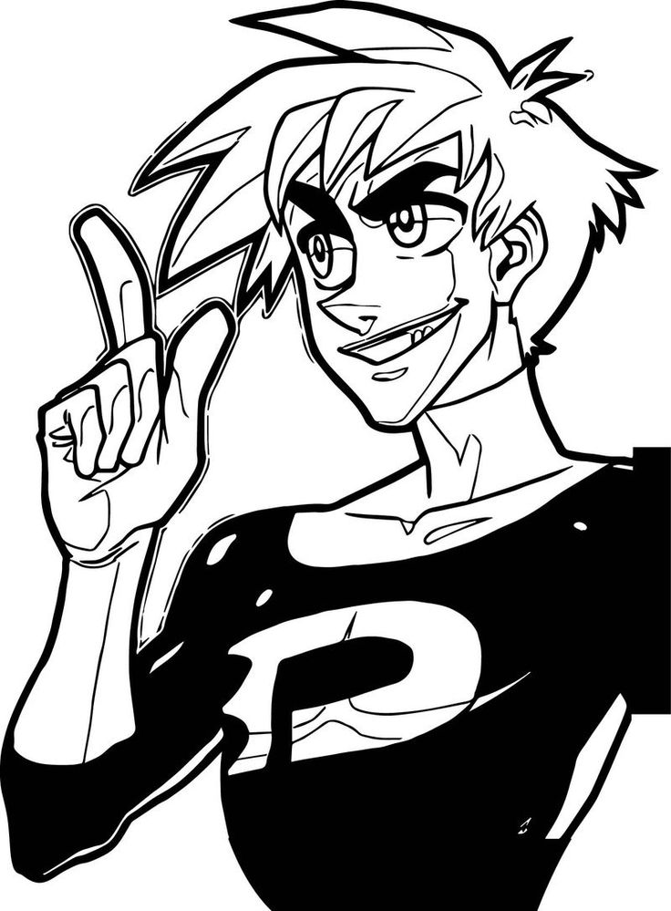 phantom coloring pages danny phantom coloring pages phantom coloring pages