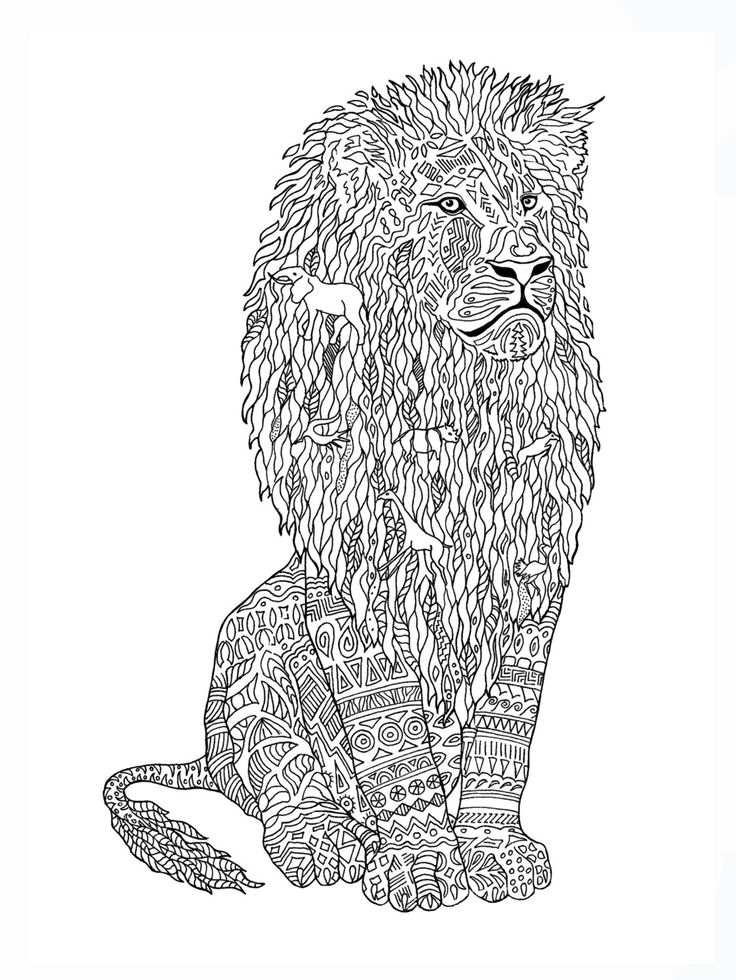 picture of a lion to color lion coloring book page by colormefreelife on etsy lion a lion picture of color to