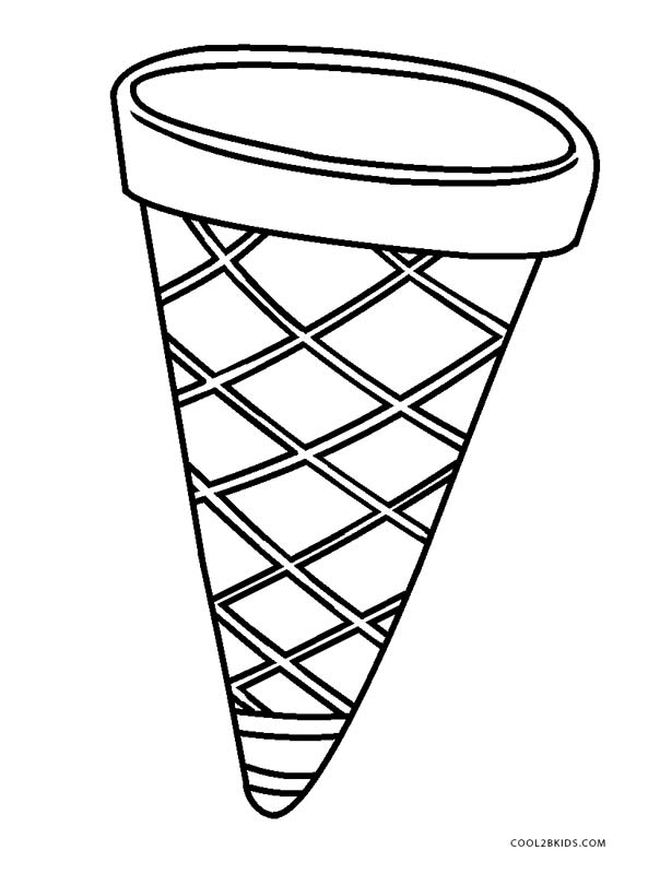 picture of ice cream cone to color coloring ville of to color cone ice cream picture
