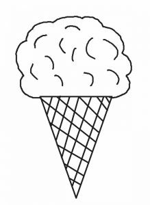 picture of ice cream cone to color first grade39s rainbow ice cream cones on the ipads mrs ice of cone color cream picture to