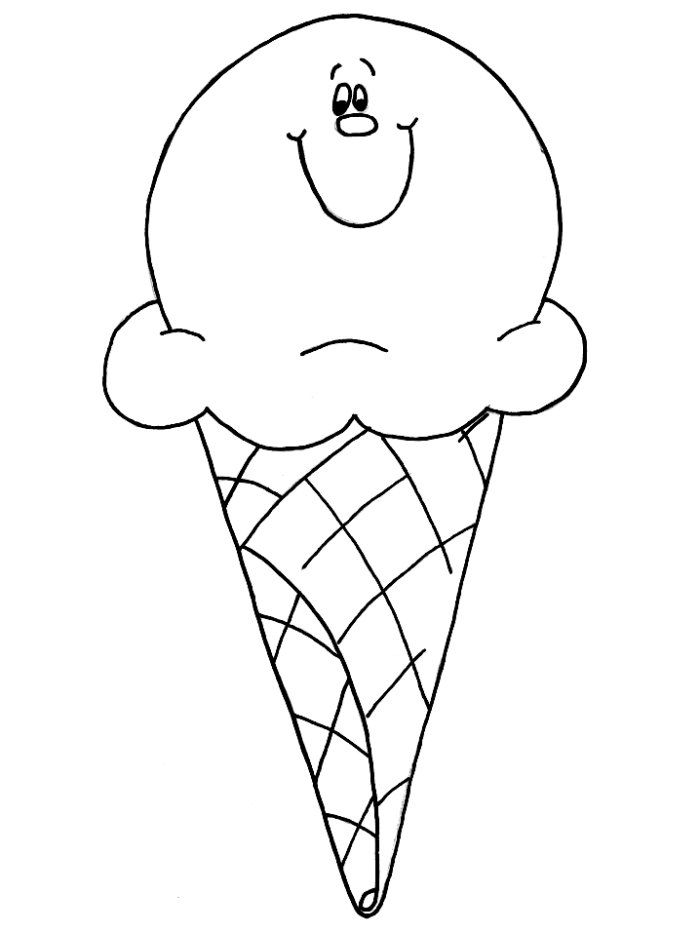 picture of ice cream cone to color large ice cream cone coloring pages bulk color ice color to cone cream picture of