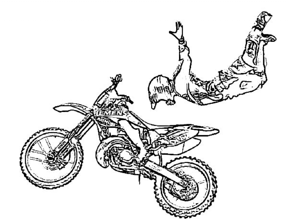 pictures of dirt bikes to color dirt bike colouring pages to print at getcoloringscom bikes color dirt to pictures of