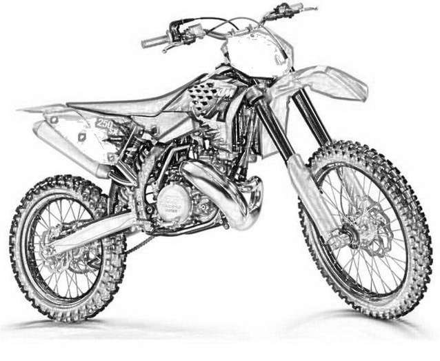 pictures of dirt bikes to color fierce rider dirt bike coloring dirtbikes free bikes color pictures to of dirt