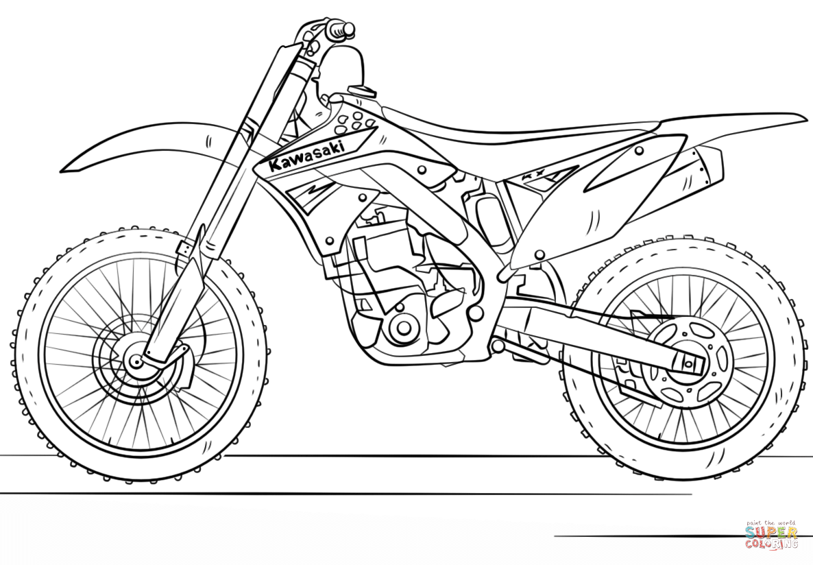 pictures of dirt bikes to color ktm coloring page coloring pages bike drawing ktm to of bikes color pictures dirt
