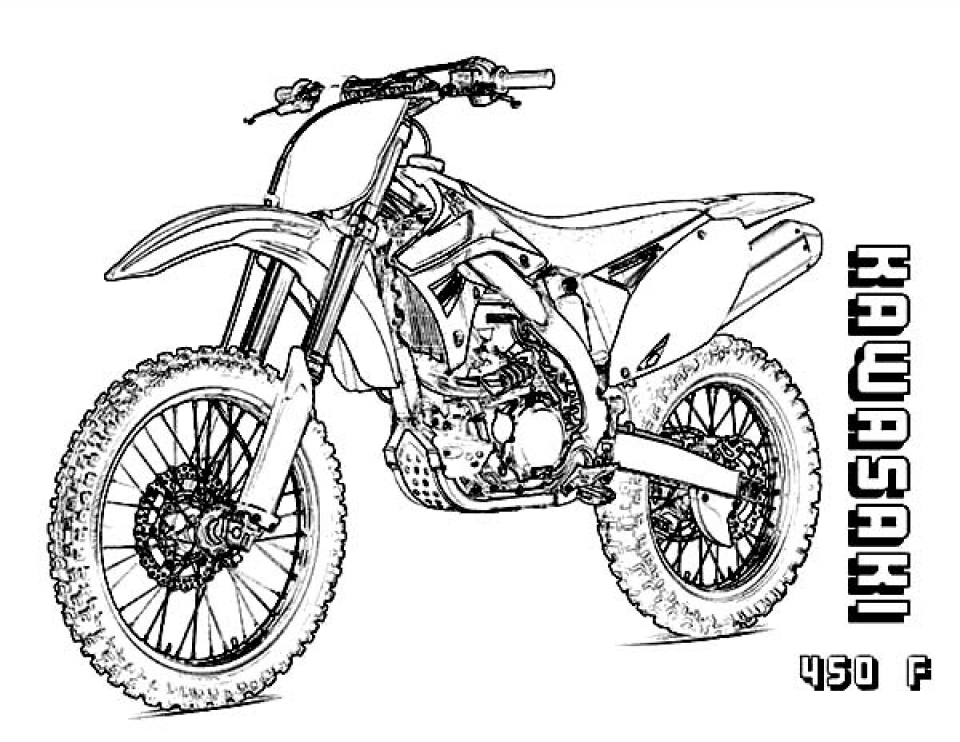 pictures of dirt bikes to color motocross bikes coloring pages coloring home dirt to color pictures of bikes