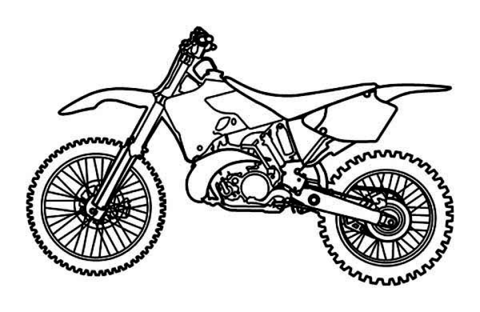 pictures of dirt bikes to color pictures of dirt bike coloring home dirt to bikes of color pictures