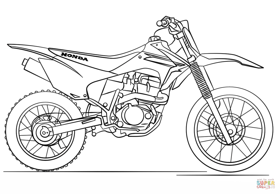 pictures of dirt bikes to color printable dirt bike coloring pages divyajananiorg to dirt of color pictures bikes
