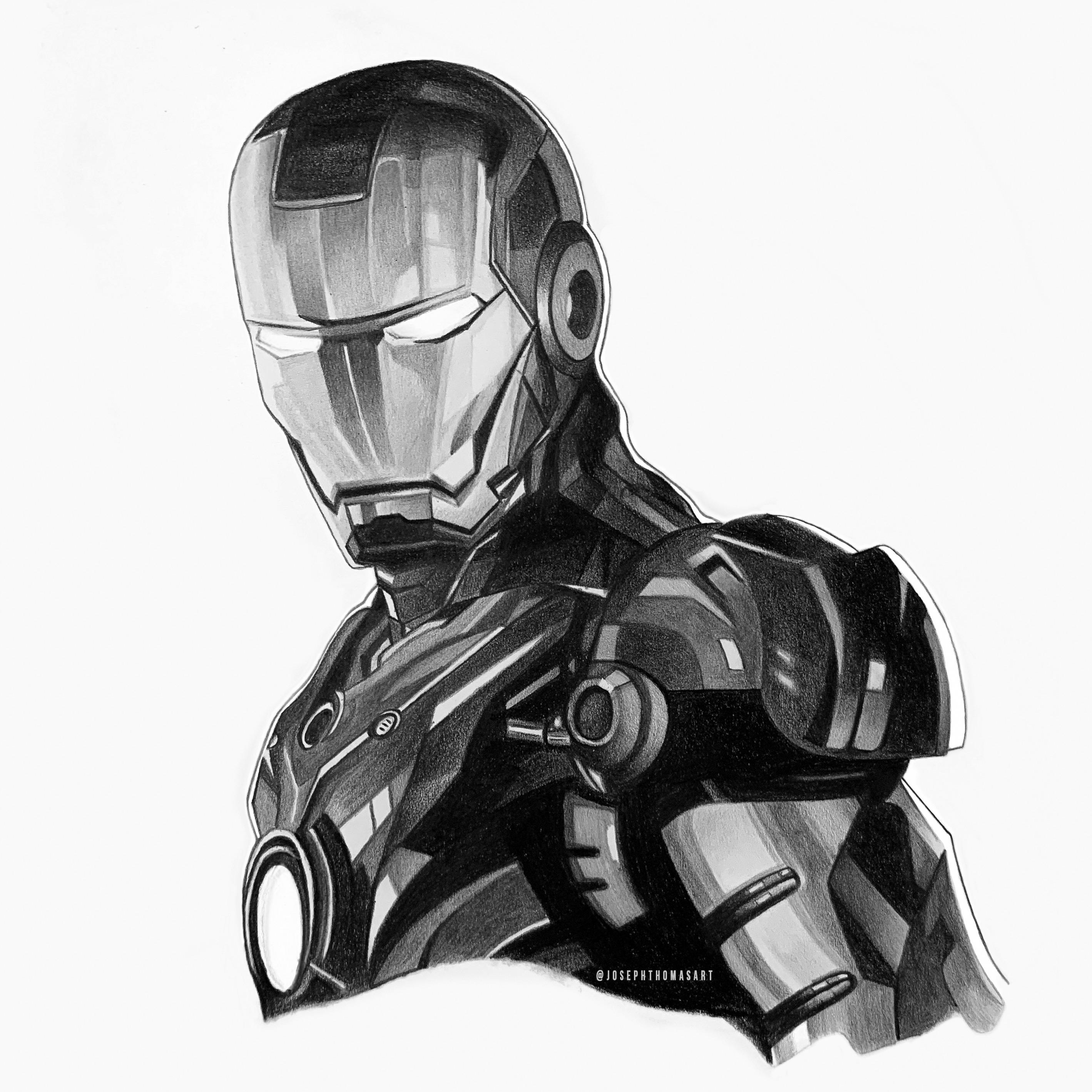 pictures of iron man a pencil drawing i did of iron man in bw marvelstudios of man pictures iron