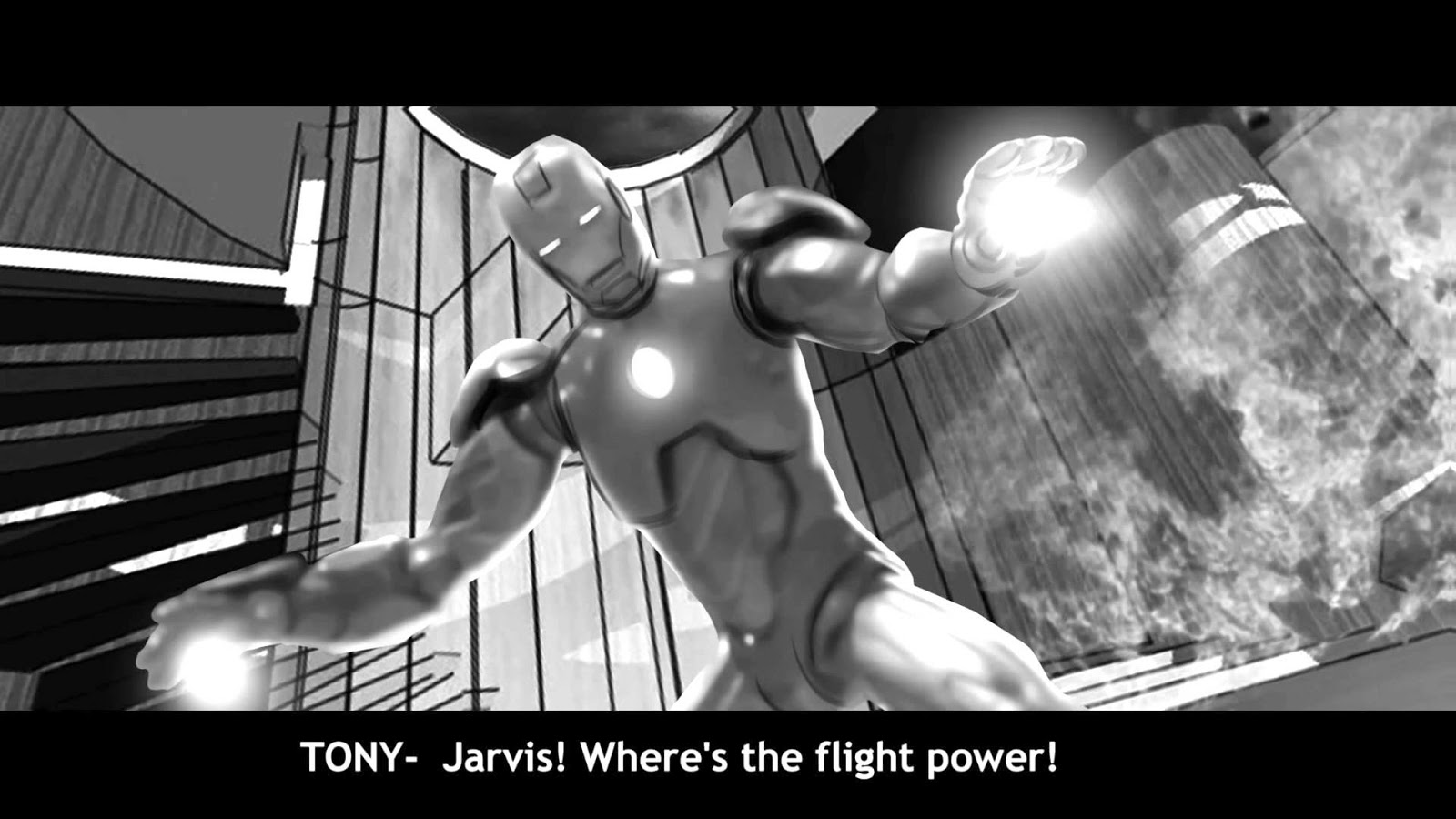 pictures of iron man iron man 3 mansion attack animatic by federico d iron man of pictures