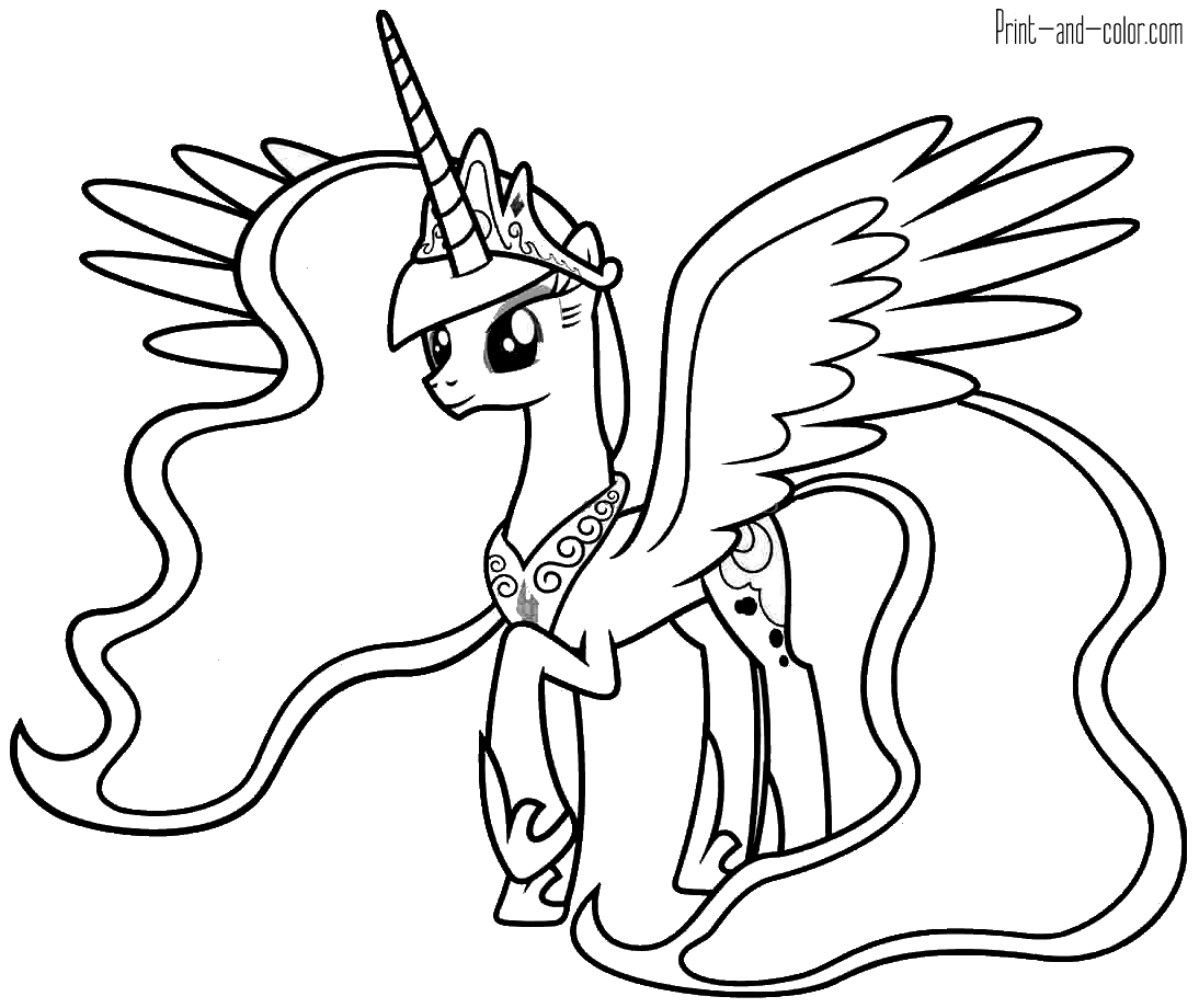 pictures of my little pony to color free printable my little pony coloring pages for kids pony to of pictures my little color