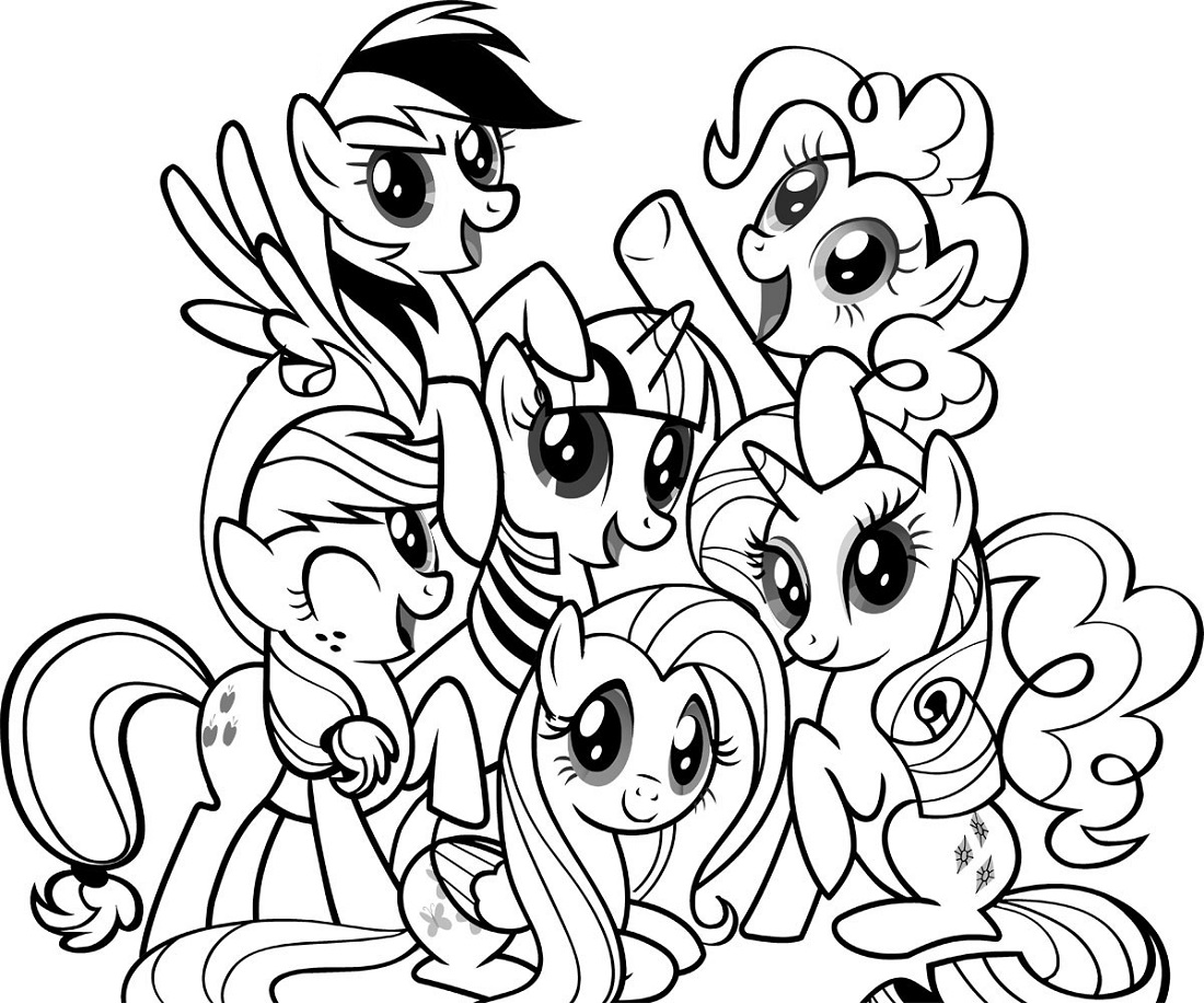 pictures of my little pony to color my little pony coloring pages print and colorcom my of to color pictures little pony