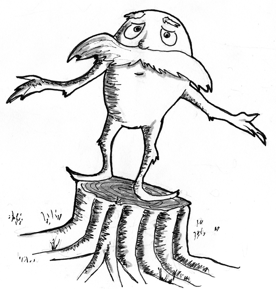 pictures of the lorax to color free printable lorax coloring pages for kids lorax the of to color pictures