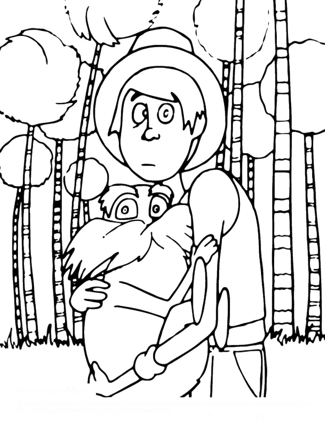 pictures of the lorax to color lorax coloring pages free printable lorax coloring pages the pictures lorax color to of