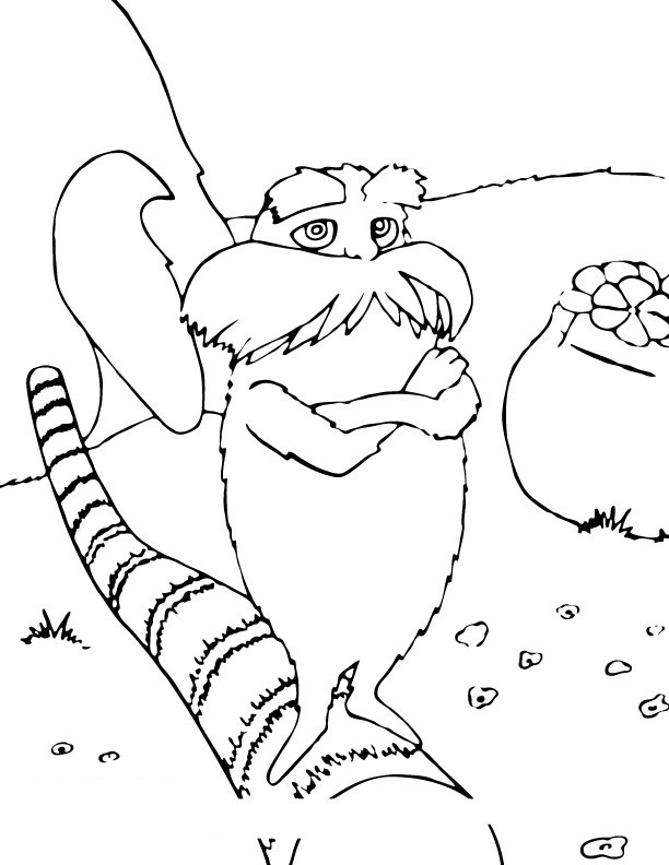 pictures of the lorax to color lorax coloring pages free printable lorax coloring pages the to lorax color of pictures