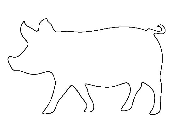 pig outline get this blank pig outline coloring pages 74513 outline pig