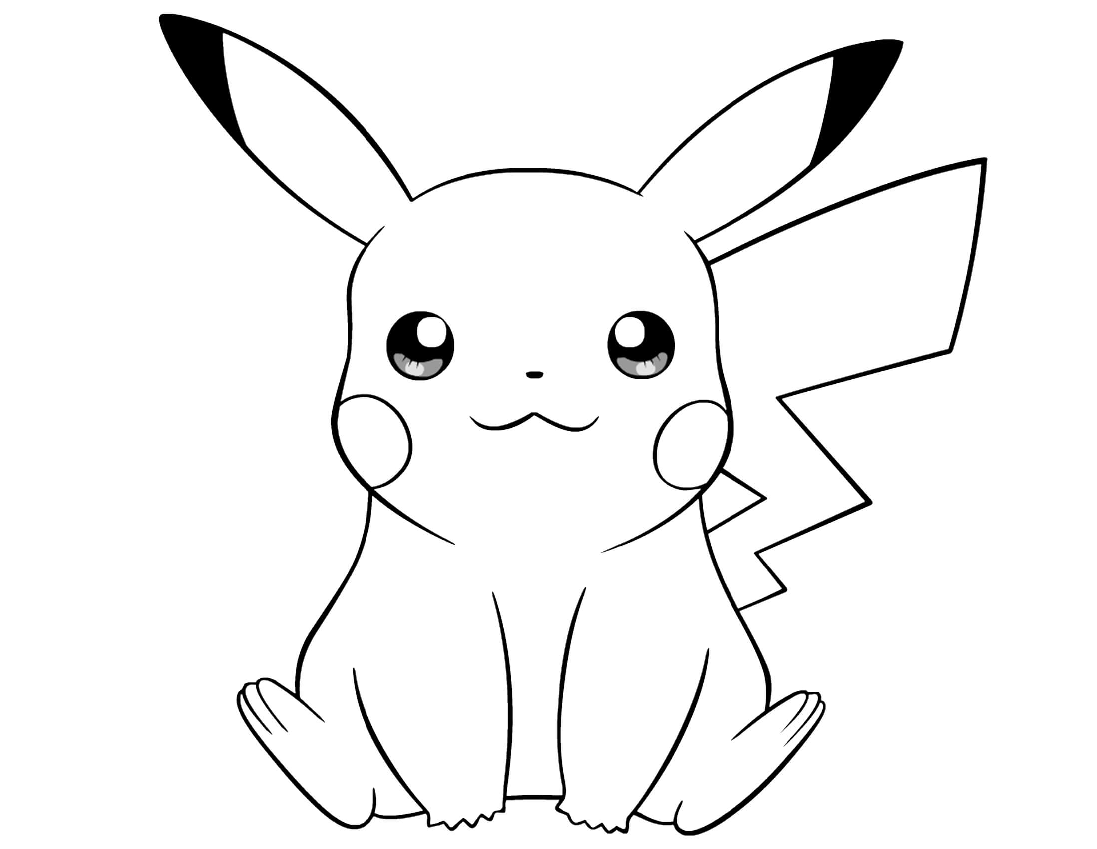 pikachu drawing coloring pages baby pikachu drawing at getdrawings free download pages pikachu coloring drawing
