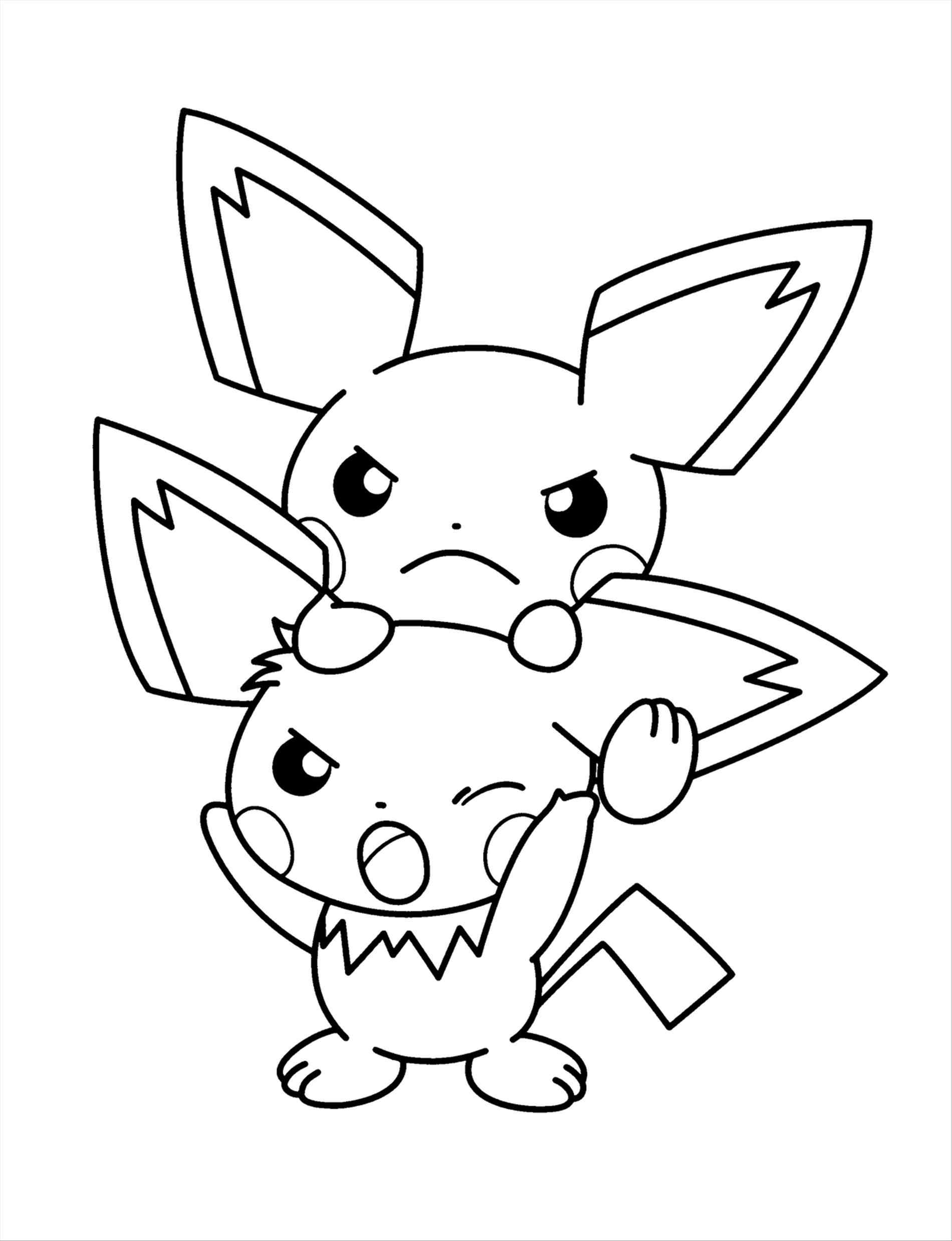 pikachu drawing coloring pages cute pikachu coloring pages at getdrawings free download pikachu pages drawing coloring