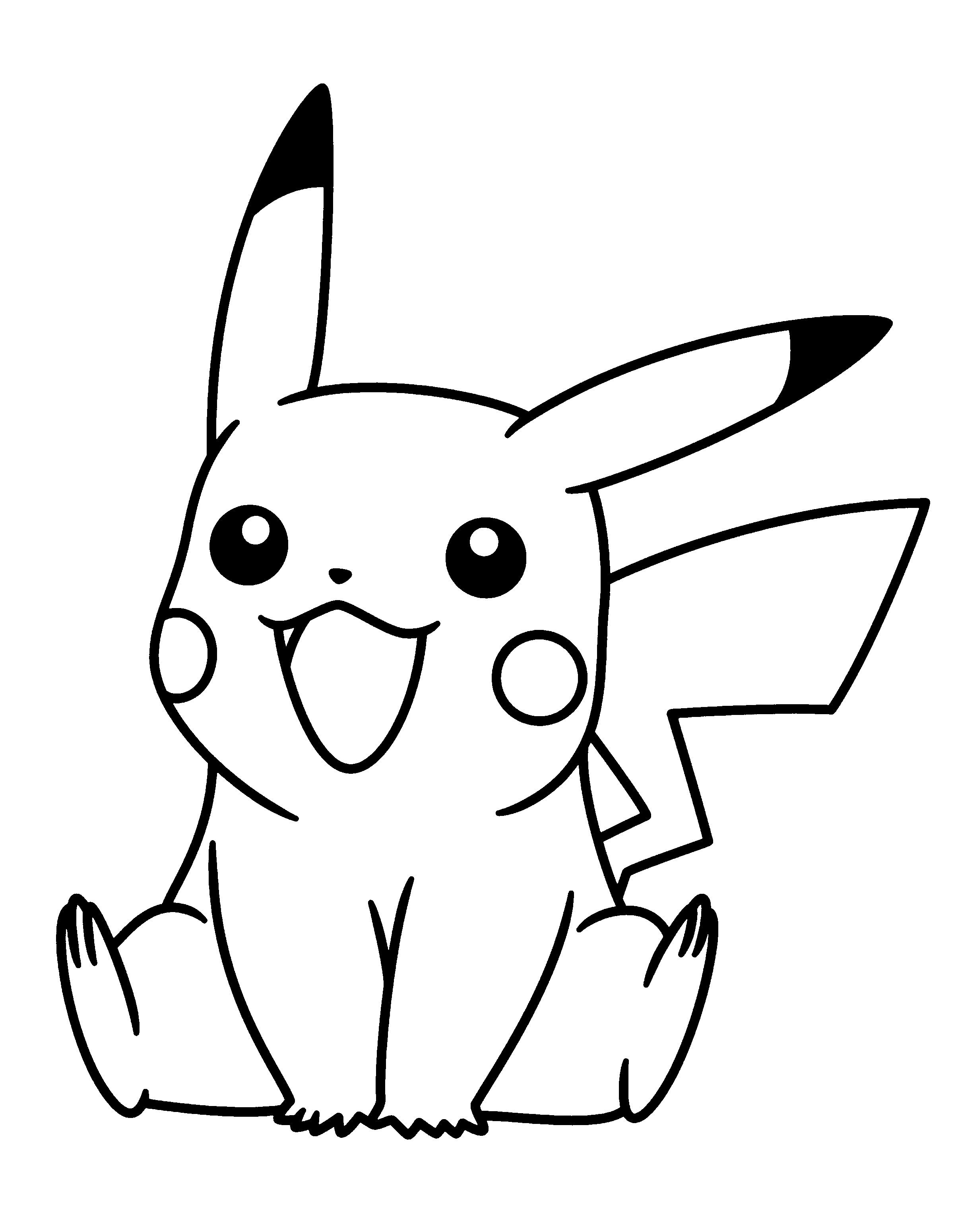 pikachu drawing coloring pages pikachu coloring pages to download and print for free drawing pages coloring pikachu