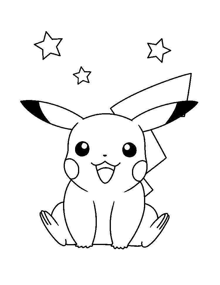 pikachu drawing coloring pages pikachu drawing step by step easy at getdrawings free pikachu coloring drawing pages