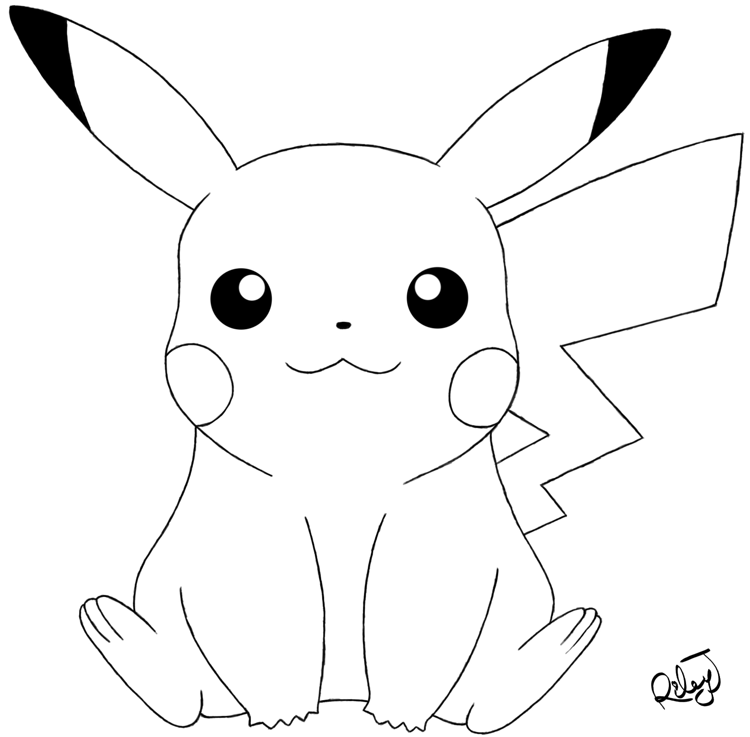 pikachu drawing coloring pages pokemon pikachu drawing at getdrawings free download drawing coloring pages pikachu
