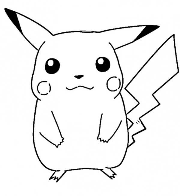 pikachu drawing coloring pages read morepikachu colouring pages for kids with images coloring pages drawing pikachu