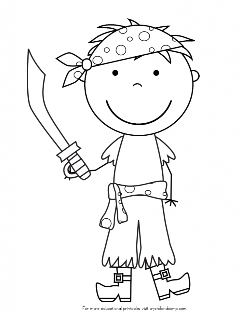pirate coloring pages for preschool free pre k pirate color pages to z kids stuff pirate pirate pages for coloring preschool