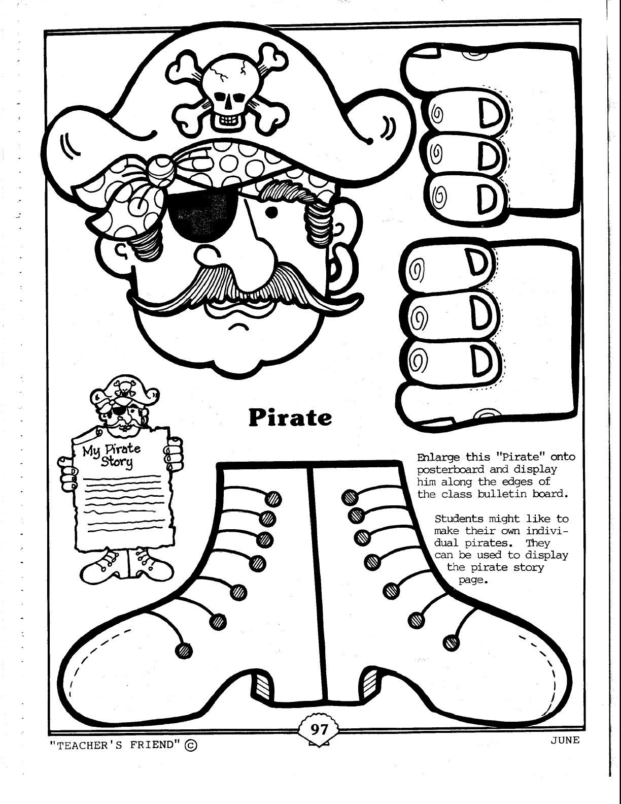 pirate coloring pages for preschool pin by amy whittington on preschool pirates pinterest coloring pages pirate for preschool