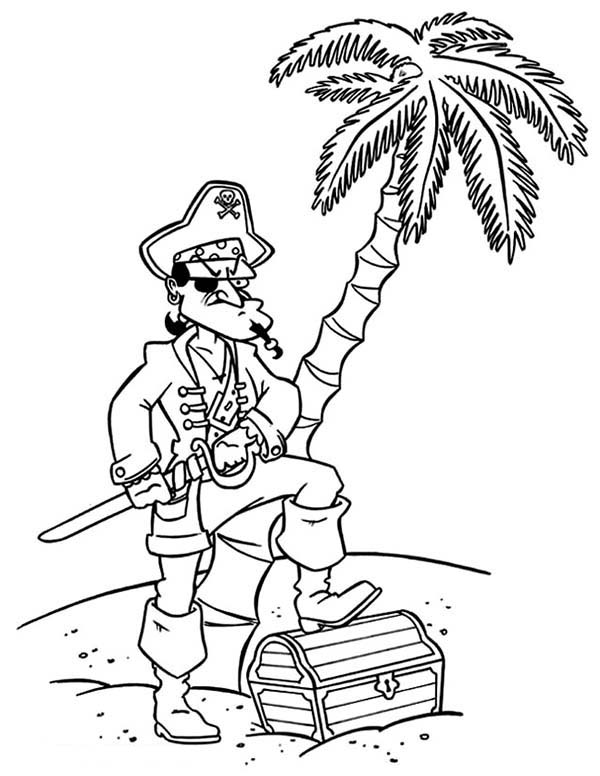 pirate coloring pages for preschool pirate captain treasure chest coloring pages bulk color pages coloring pirate for preschool