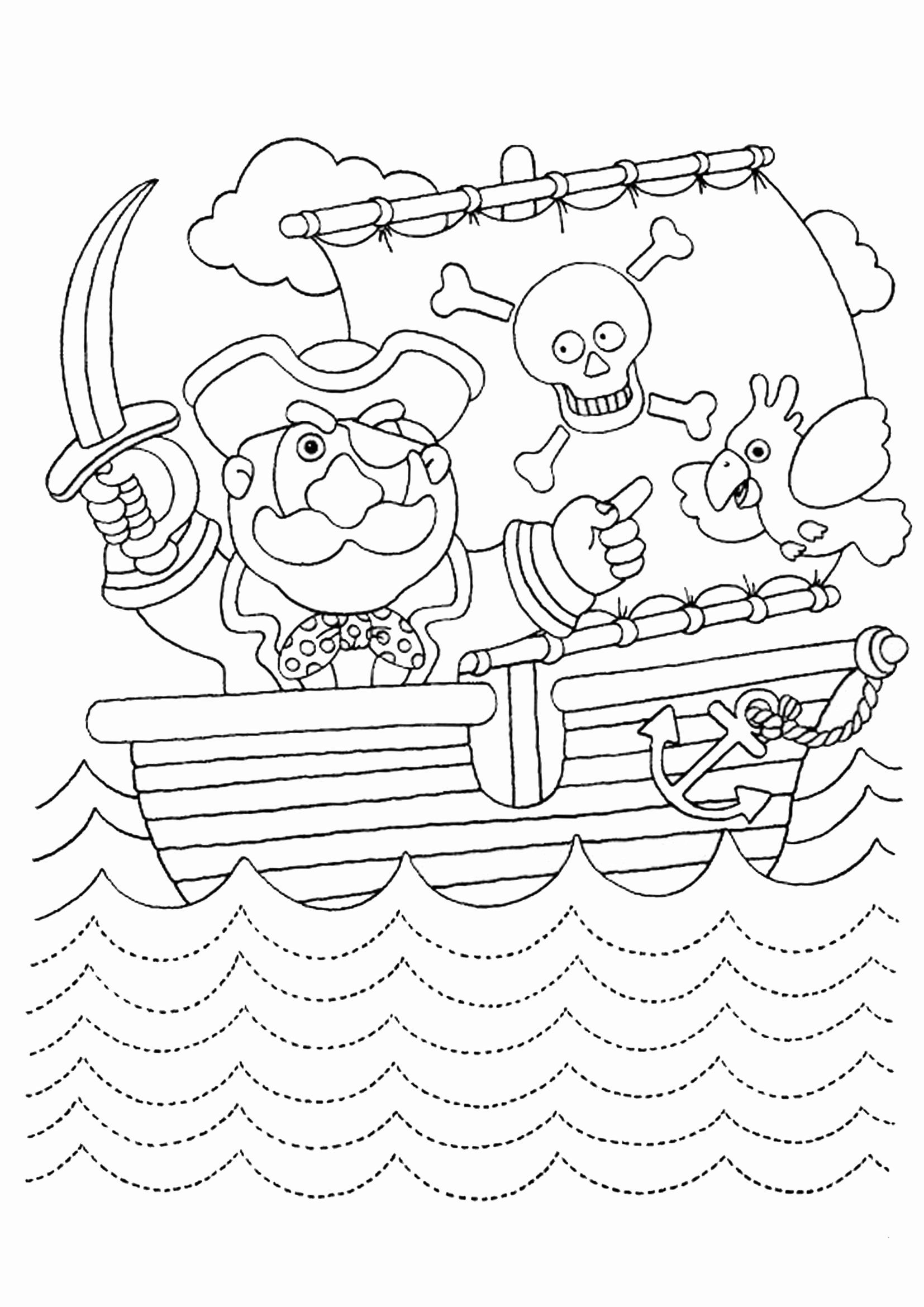pirate coloring pages for preschool pirate got treasure chest coloring page pirate coloring coloring preschool pirate pages for