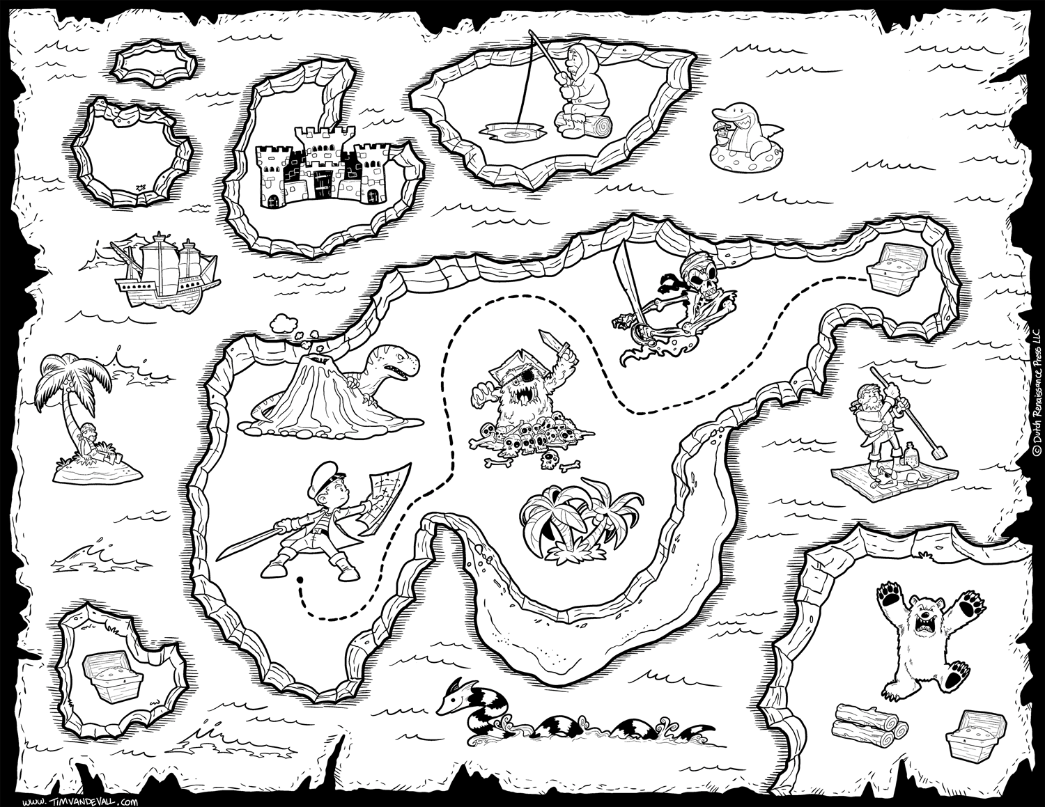 pirate map coloring page free pirate treasure maps and party favors for a pirate page coloring map pirate