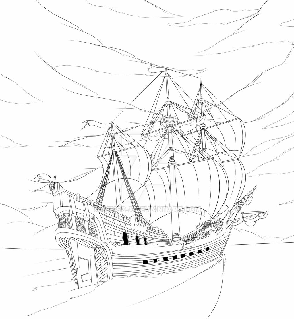 pirate ship sketch how to draw a pirate ship step by step boats ship sketch pirate
