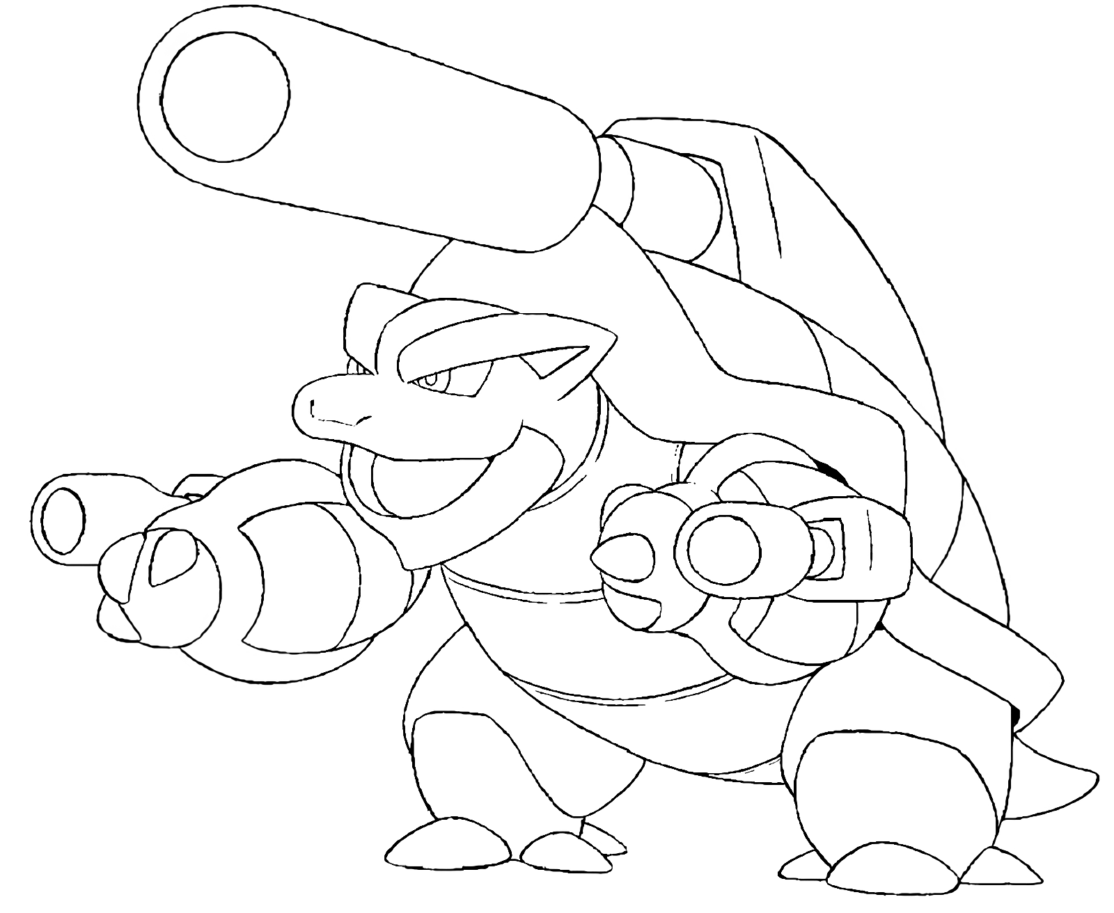 pokemon coloring pages blastoise blastoise drawing at getdrawings free download pokemon coloring pages blastoise