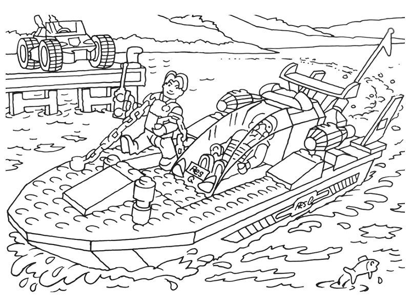 police boat coloring page boat lego city coloring pages workberdubeat coloring coloring police boat page