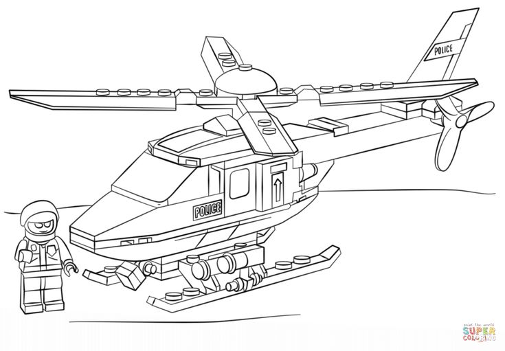 police boat coloring page lego polizei hubschrauber ausmalbilder 826 malvorlage lego police page coloring boat
