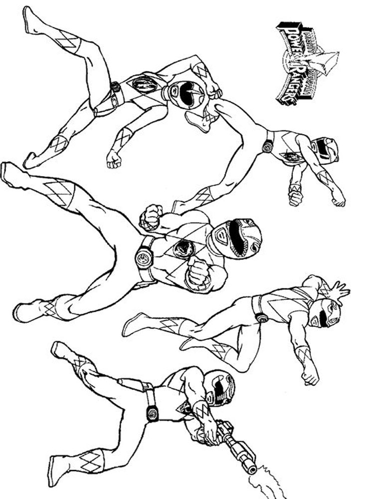 power rangers color pages power rangers coloring pages power color rangers pages