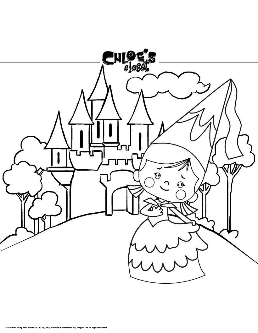 princess castle colouring pages princess castle coloring pages at getdrawings free download pages castle princess colouring