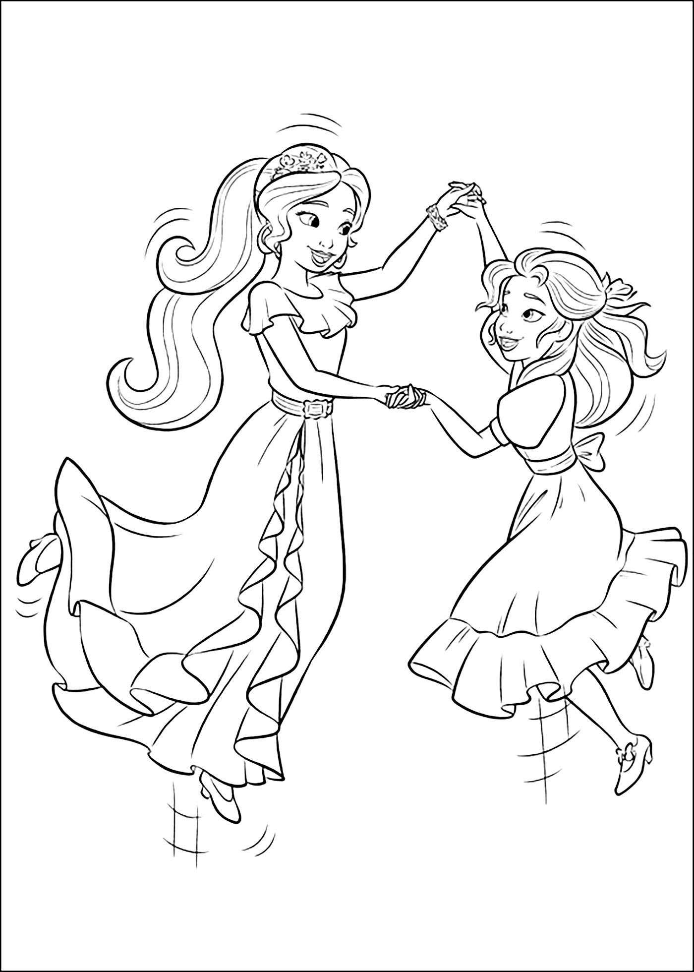 princess elena coloring pages 16 elena with her staff coloring page princess coloring elena coloring princess pages