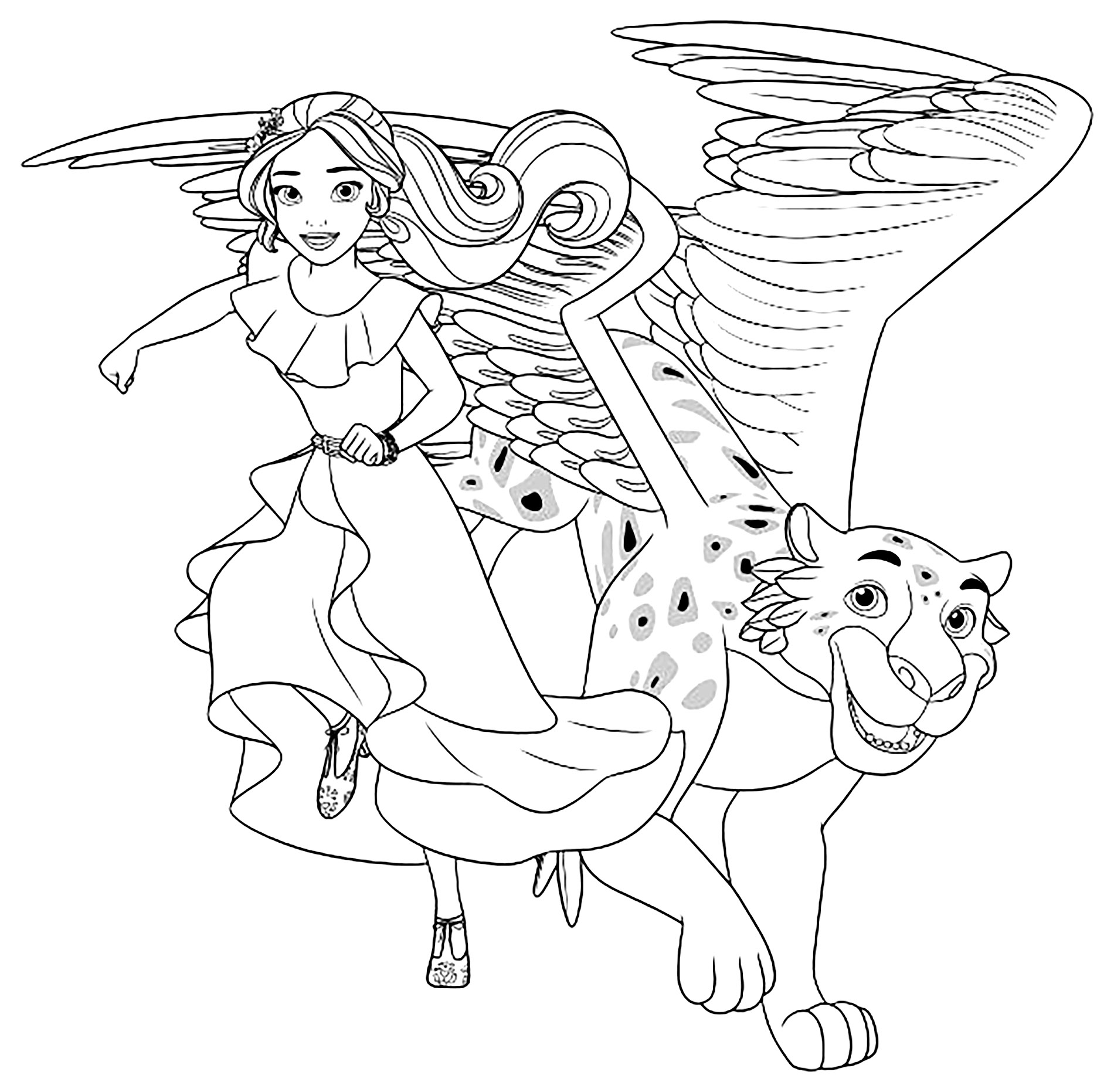 princess elena coloring pages 28 elena of avalor coloring page in 2020 princess elena coloring princess pages