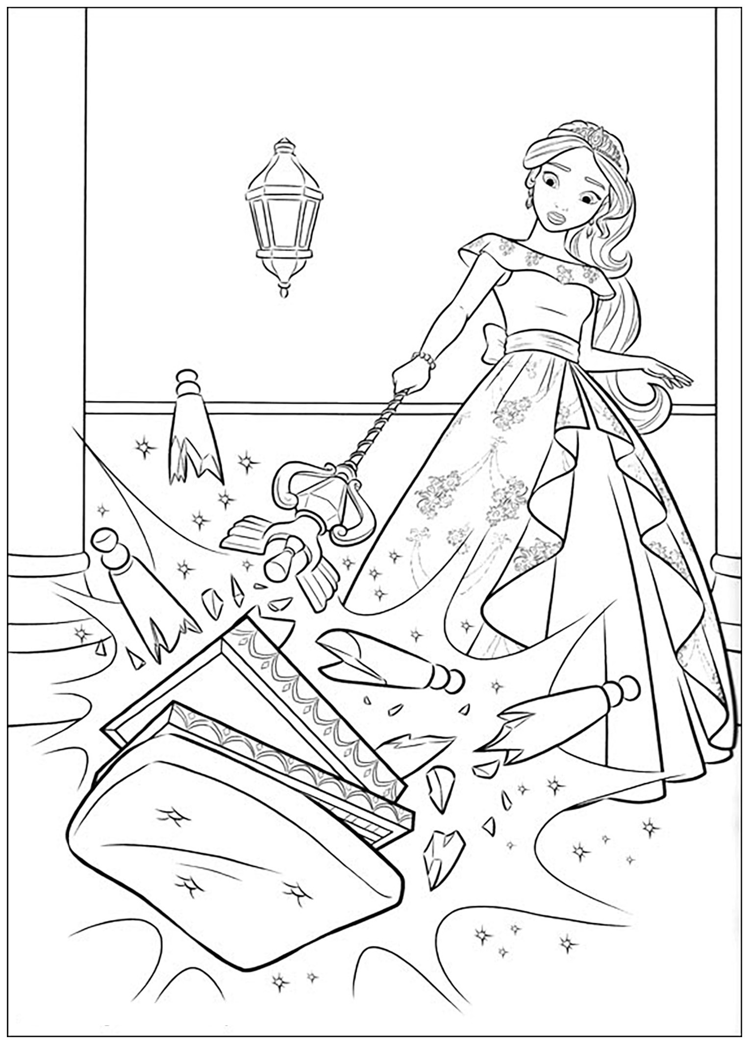 princess elena coloring pages elena of avalor coloring page for a year old princess princess elena coloring pages