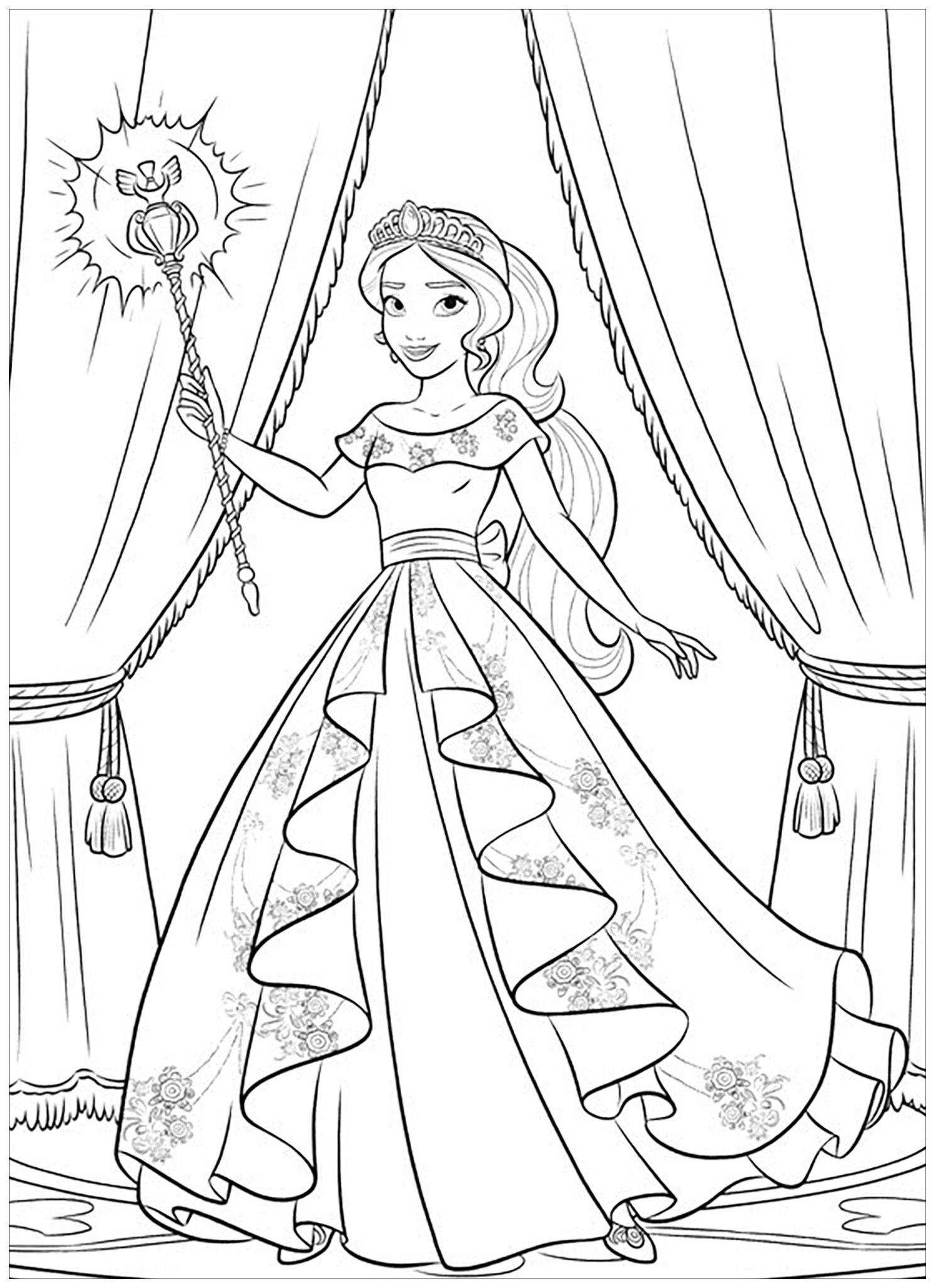 princess elena coloring pages princess elena of avalor coloring pages thousand of the pages princess coloring elena